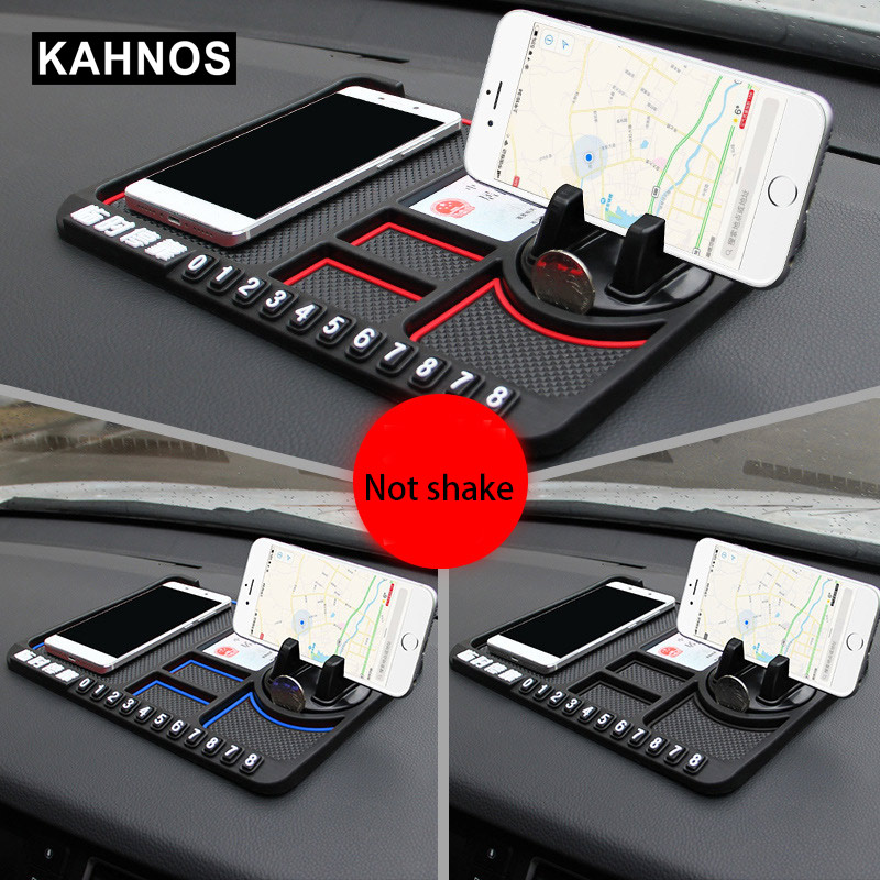 Multifunctional Car Phone Holder Temporary Car Phone Mat Holder Silicone Dashboard For Car Pad Mat
