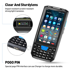 Image 5 - Android 8,1 Industrie Robusten PDA Handheld POS Terminal Laser Barcode Scanner Unterstützung Drahtlose WiFi 4G BT für Lager Express