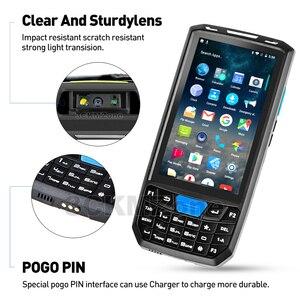 Image 5 - Android 8.1 przemysłowy wytrzymały PDA ręczny Terminal płatniczy laserowy skaner kodów kreskowych wsparcie bezprzewodowy WiFi 4G BT dla magazynu Express