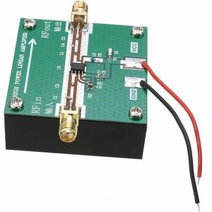 Image 5 - RF2126 400MHZ 2700MHZ broadband RF Power Amplifier 2.4GHZ 1W For Bluetooth Ham Radio Amplifier with heat sink
