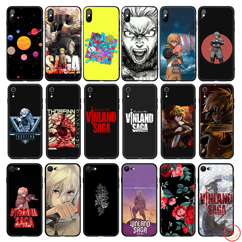 Vinland Saga Anime Soft Silicone Phone Case for iPhone 11 Pro Xs Max X or 10 8 7 6 6S Plus 5 5S SE Xr 6 Plus 7Plus 8 Plus Cover(China)