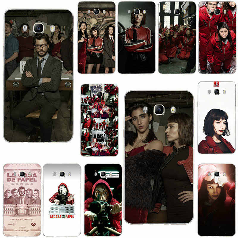 Soft Cases For Samsung Galaxy Note 2 3 4 5 8 9 10 A10 A20 A30 A40 A50 A60 A70 A80 A90 TV The Paper House Money Heist
