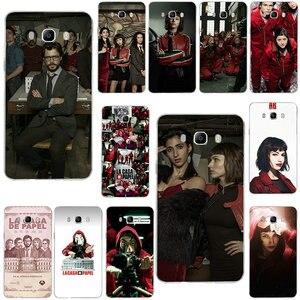 Soft Cases Voor Samsung Galaxy Note 2 3 4 5 8 9 10 A10 A20 A30 A40 A50 A60 A70 a80 A90 Tv De Papier Huis Geld Heist