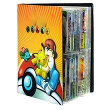 240 sztuk Cartoon Pokemones kolekcje karty Album Album Pokemon zabawki Holder Binder Folder dzieci Top załadowany List zabawki prezent