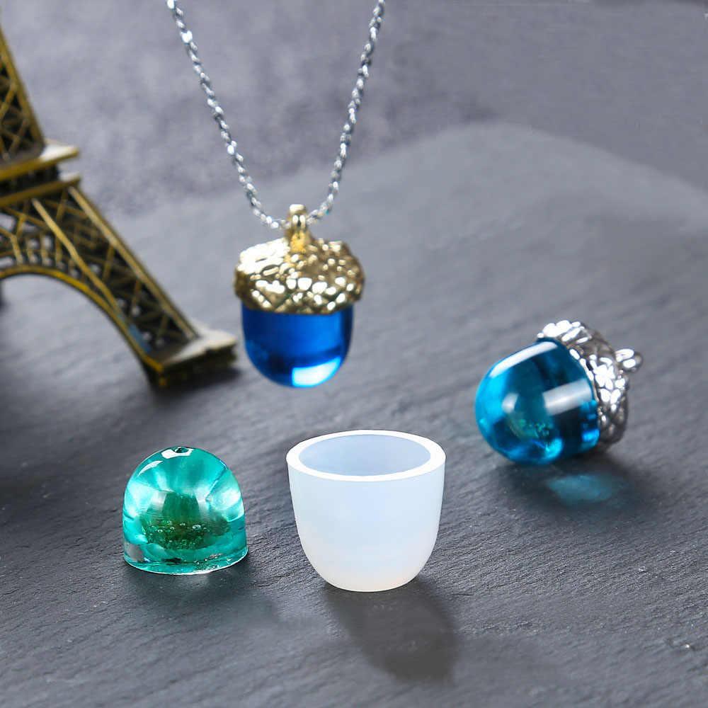 Silicone Mold DIY Crystal Pendant Jewelry Making Epoxy Resin Molds Handmade Gift