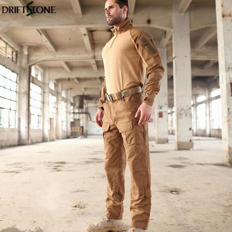 Uniforme militar MTP entrenamiento G3 trajes camuflaje táctico Multicam Rana trajes ejército Airsoft camisa de combate y pantalones de carga - 2