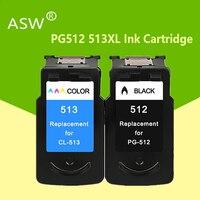 Kompatibel PG512 CL513 für Canon pg 512 cl 513 tinte patrone für Pixma MP230 MP250 MP240 MP270 MP480 MX350 IP2700 drucker pg-512