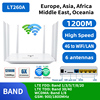 DONG ZHEN HUA LT260 Dual-Frequency 2.4Ghz 5.8Ghz Dual band 1200Mbps CAT6 32 Wifi Users 4G Router Portable Wifi 5G Mobile Hotspot