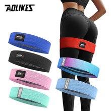 AOLIKES, Unisex, banda para el trasero, banda de resistencia, banda de entrenamiento, ejercicio para piernas, muslo, Glute, Butt Squat, bandas, diseño antideslizante