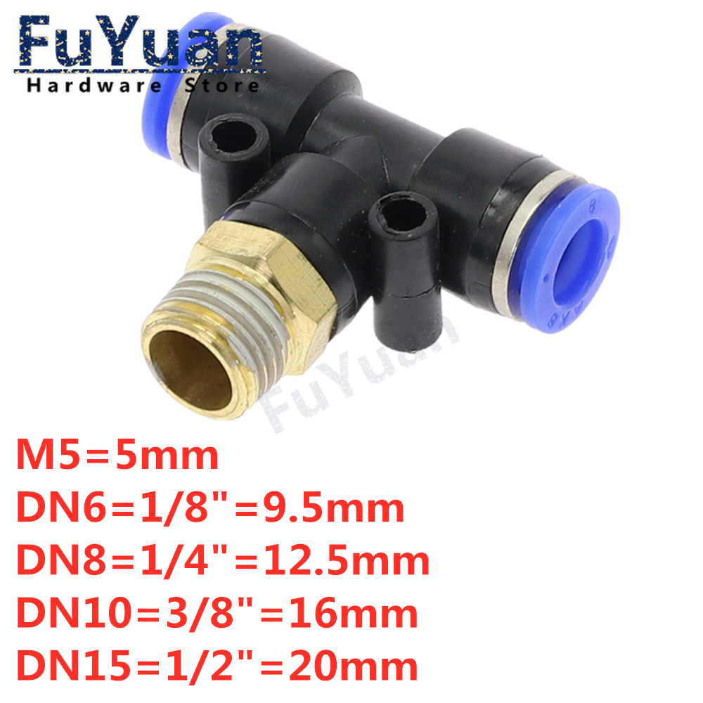 Size : 12mm 1pc Pneumatic Airflow Regulator 4mm 6mm 8mm 10mm 12mm OD Hose Tube Gas Flow Adjust Valve Connector Fitting Air Speed Control Crane no logo WSF-Adapters