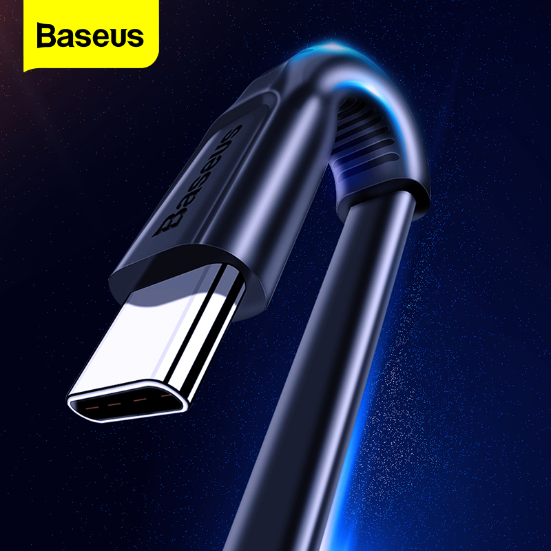 Baseus USB Type C Cable USBC Fast Charging Charger USB C Type c Cable For Samsung S10 S9 S8 Xiaomi Mi 9 8 Huawei OnePlus 6t 6 5t|cable for|charger cablecable for galaxy - AliExpress