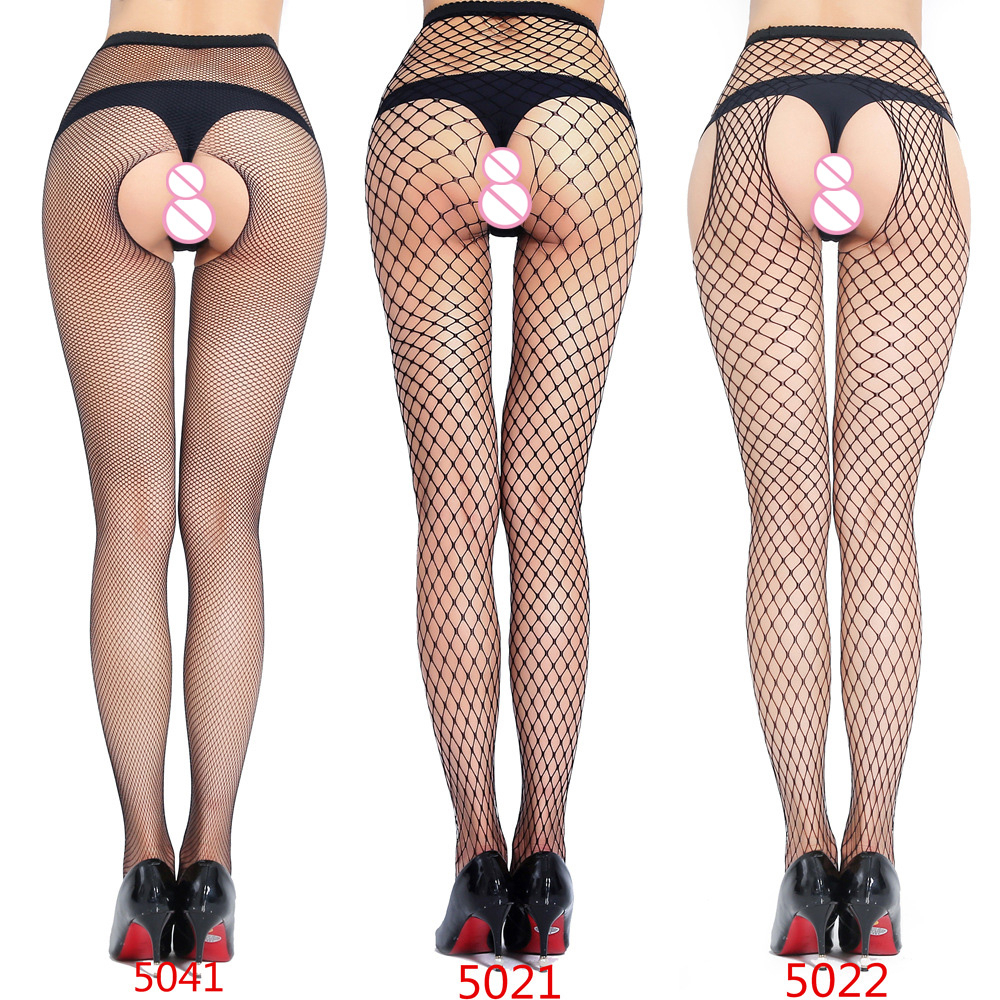 SEXY Women High Waist Fishnet Stocking Fishnet Club Tights Panty Knitting Net Pantyhose Trouser Mesh Lingerie 1pcs/lot 5021