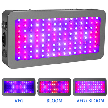 Dual switches LED Grow Lights For Indoor plants Veg/Flower led plant grow light full spectrum 600w/900w/1200w led grow lamps wholesale price led grow light 300w indoor led plant grow light kit full specturm led light for plants veg and flower 10pcs