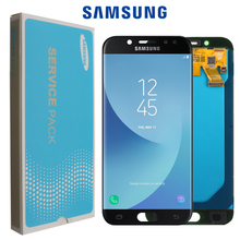 Pantalla de repuesto LCD SUPER AMOLED para móvil, montaje de digitalizador de pantalla táctil LCD de 5,2 pulgadas para SAMSUNG Galaxy J5 PRO 2017 J530 J530F