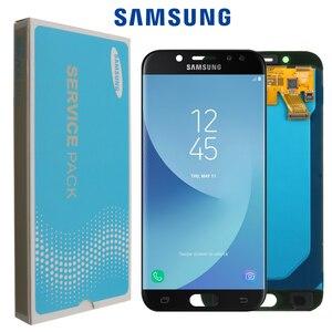 Image 1 - SUPER AMOLED 5.2 écran de remplacement LCD pour SAMSUNG Galaxy J5 PRO 2017 J530 J530F LCD écran tactile numériseur assemblée