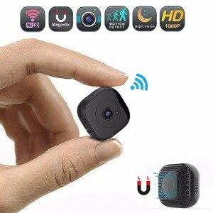 Hd 1080 p wifi mini câmera infravermelha noite versão micro câmera dvr sensor de movimento controle remoto cam gravador de vídeo pk sq11 sq13