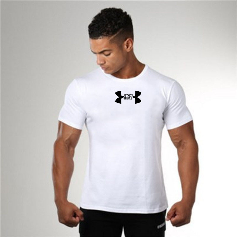 Compression-Shirt T-Shirts Short-Sleeve Running-Tops Gym Muscle Fitness Bodybuilding