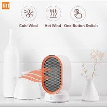 Xiaomi VIOMI calentadores eléctricos encimera Mini sala de Casa Handy ventilador calentador rápido ahorro de energía calentador para invierno PTC Calentamiento de cerámica