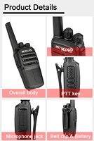 """רדיו ווקי טוקי RETEVIS RT40 DMR דיגיטלי ווקי טוקי PMR446 / FRS PMR 446MHz רדיו Comunicador 0.5W VOX דו כיוונית רדיו Hamdheld מקמ""""ש (5)"""
