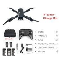 M1808 WiFi FPV RC Drone 4K Camera Optical Flow Positioning HD Dual Camera Aerial