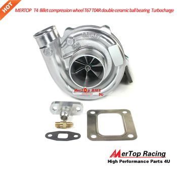 MTP RACING  T4 Billet compression wheel T67 T04R double ceramic ball bearing Turbocharge 400-750HP