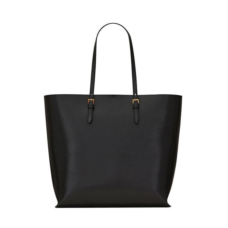 Роскошная кожаная сумка на плечо для женщин, брендовая дизайнерская модная вместительная сумка B45