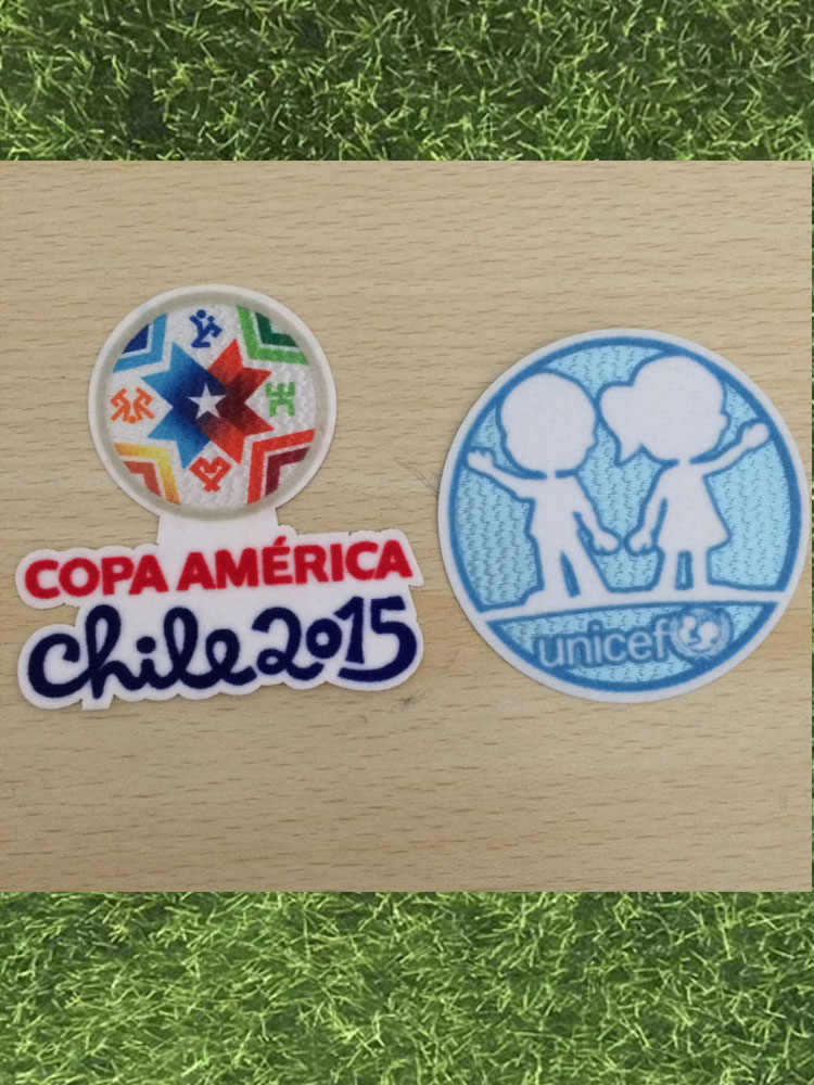 2015 Patch de Copa América E 2015 Chile Copa América Campeon Futebol Remendo Crachá
