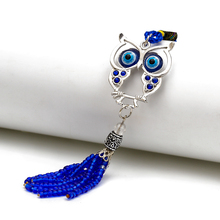Ring-Jewelry-Accessories Animal-Keychain Charms Dolphin MEIBEADS Fashion Fit 1pc Evil-Eye-Owl