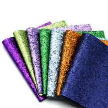 Glitter Fabric Synthetic-Leather for Wallpaper Covering-Bag Shoes Hairbow Diy-Decoration/1yc5788