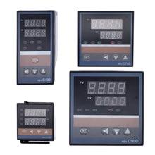 REX C100 PID ذكي متحكم في درجة الحرارة REX C100 C400 C700 C900 ترموستات SSR التتابع