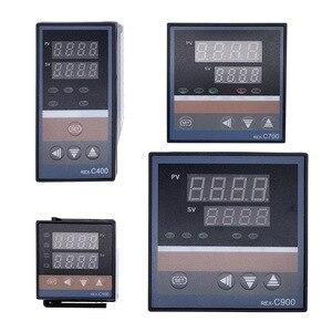 Image 1 - REX C100 intelligente PID regolatore di temperatura REX C100 C400 C700 C900 Termostato SSR Relè di uscita