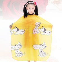 1pc Hair Styling Apron Adorable Haircut Apron Hair Salon Cloak Hair Cutting Cape for Children Girls Kids Boys(China)