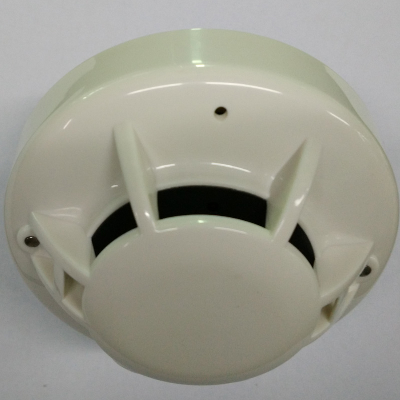 Conventional Heat Detector  2-wire Temperature Sensor Heat Alarm Work With Conventional Fire Alarm Panel