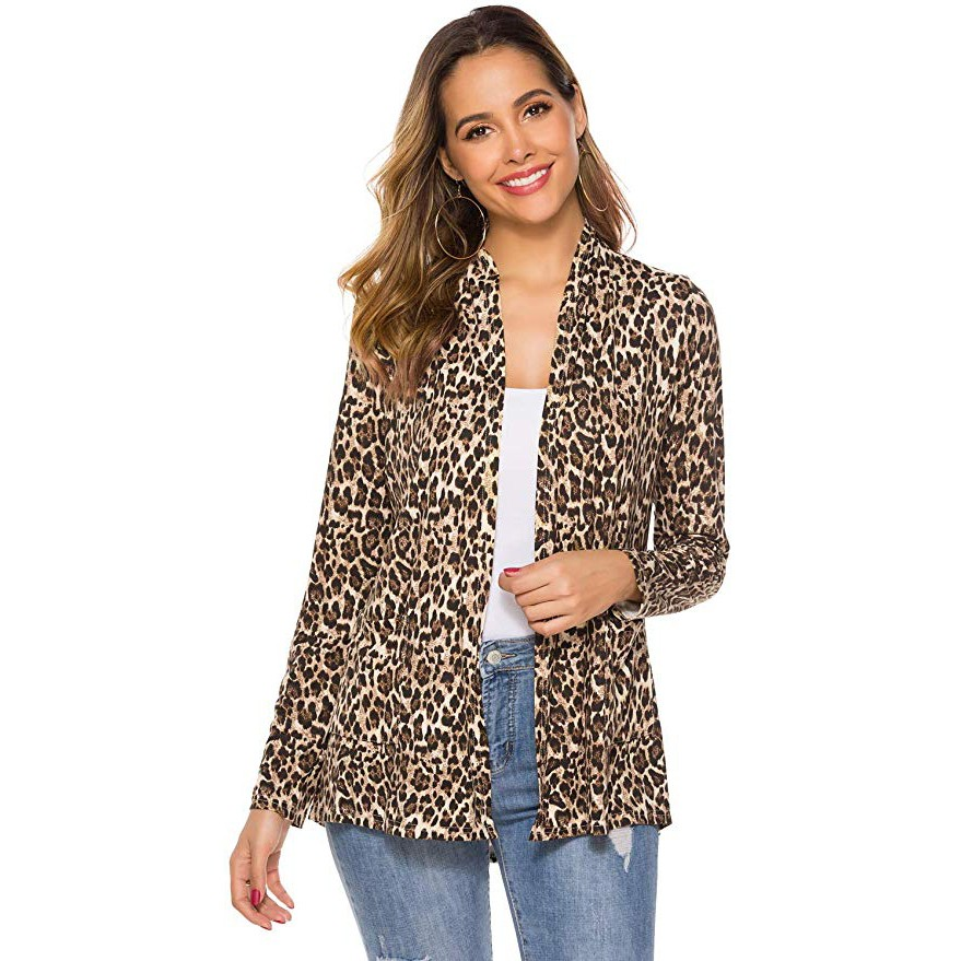 Jacket Female 2020 New Women Casual Lightweigh Fall Soft Open Front Long Sleeve Cardigans With Pockets chaqueta mujer