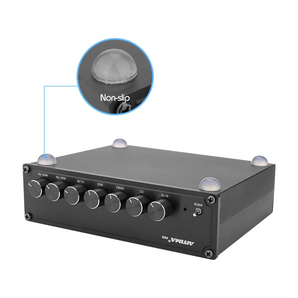 AIYIMA 5,0 Bluetooth TPA3116 усилитель звука 5,1 усилитель сабвуфера объемный 100 Вт + 50Wx5 аудио усилитель домашний кинотеатр