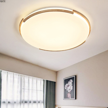 Wooden LED ceiling lighting ceiling lamps for the living room chandeliers Ceiling for the hall modern ceiling lamp