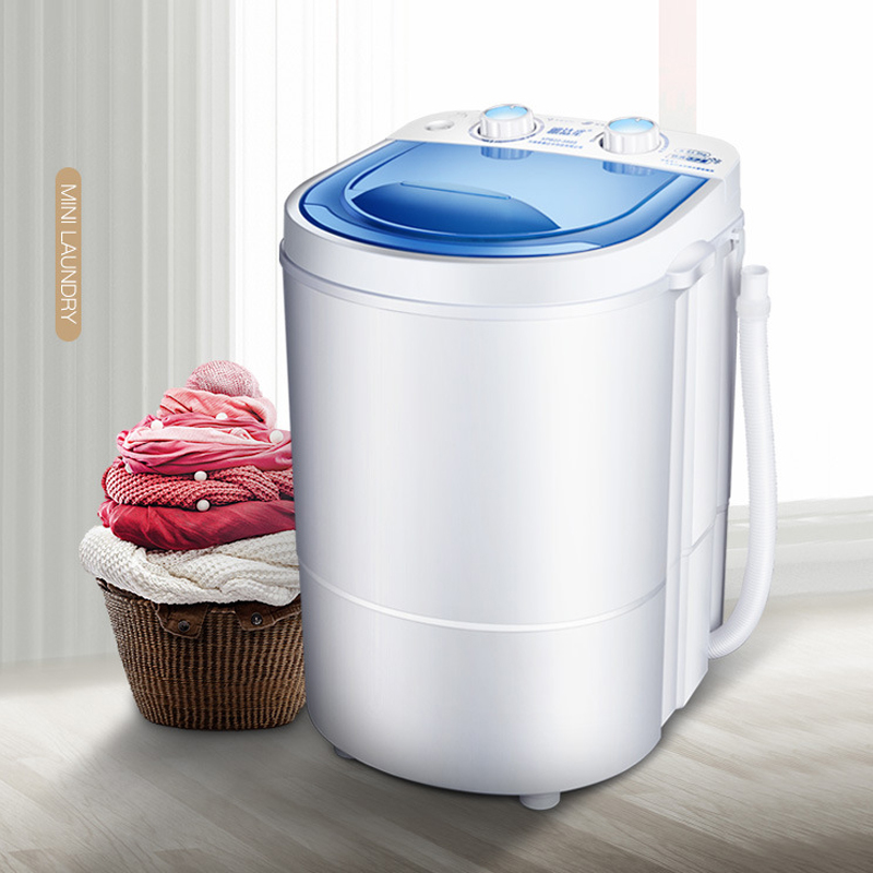 Small Portable Washing Machine, Mini Washing Machine, Leaching And Washing Machine, 2.2kg Single Bucket Washing Machine