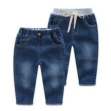 Boys Jeans Kids Trousers Fashion Children Pants Denim Baby Casual for 2-6Y Clothing