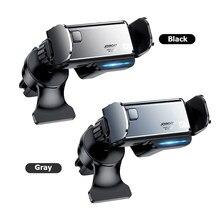 JOYROOM JR-ZS218 support pour voiture téléphone électrique dans support de téléphone portable pour voiture évent automatique support Mobile pour 6.5-6.7 pouces appareil Mobile