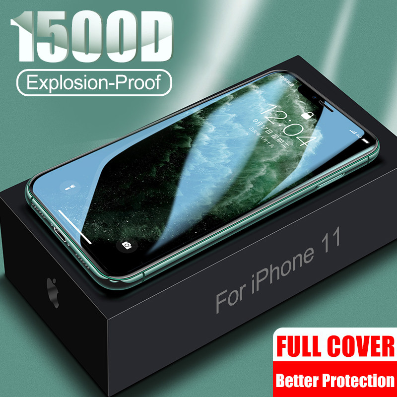 900D Tempered Protective Glass on The For iPhone 11 Pro Max 7 X XR Screen Protector For iPhone 7 8 6 6s Plus XS Max 11 Pro Glass