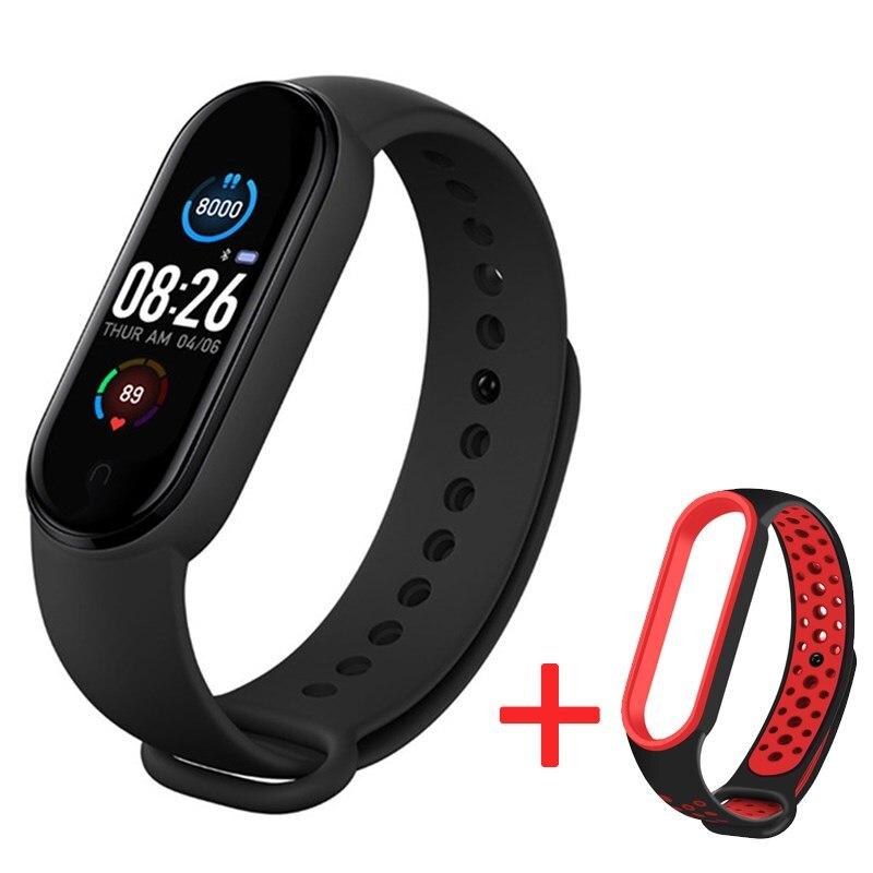 Смарт-часы M5 для мужчин и женщин, умные часы с пульсометром, тонометром, шагомером, Bluetooth-подключением, для IOS и Android
