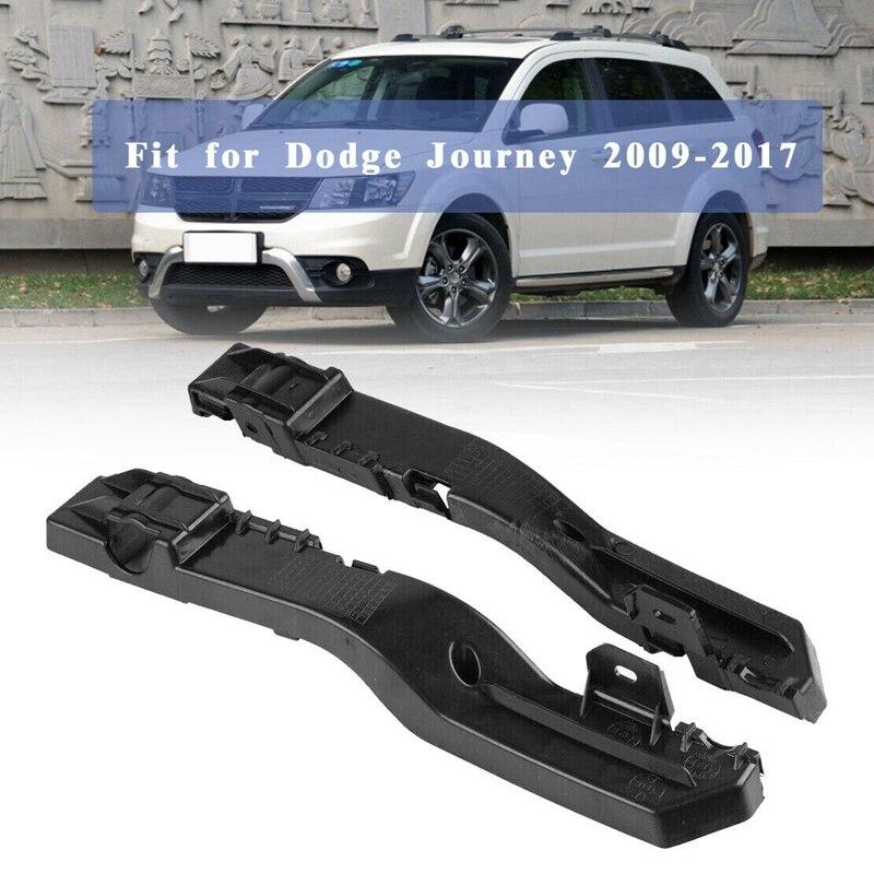 Для Dodge Journey 2009-2017 2 шт. передний бампер-опорный кронштейн левая и правая сторона 5178410AD 5178411AD