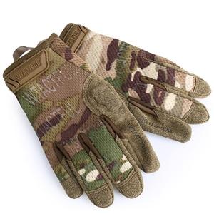 Тактические армейские перчатки, дышащие военные Пейнтбольные страйкбольные боевые перчатки, мужские и женские легкие зеленые черные перча...