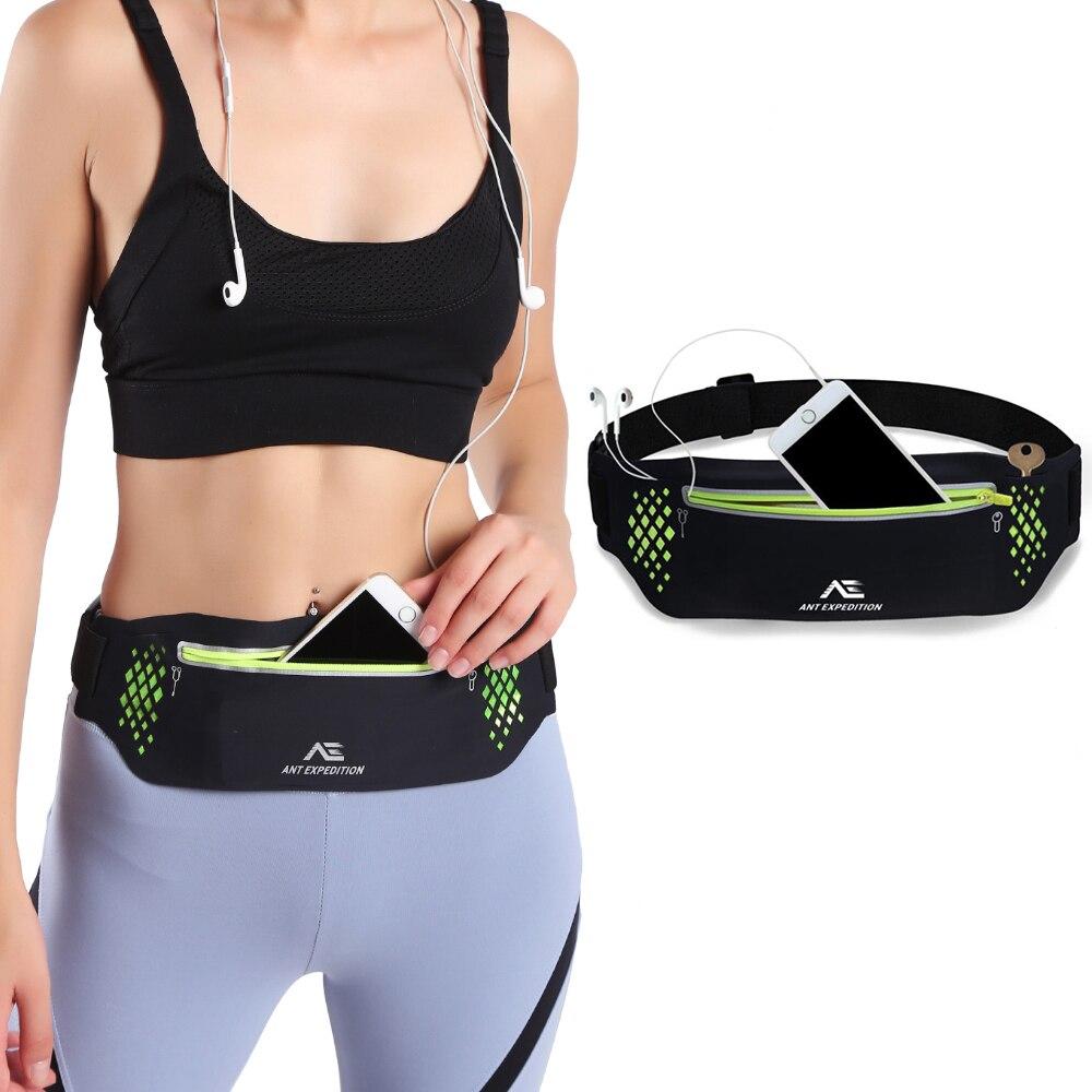 2020 New Sports Belt Waist Packs Women Phone Adjustable Length Elastic Belt 70 - 130 CM Fashion Close Sweatproof Luminous