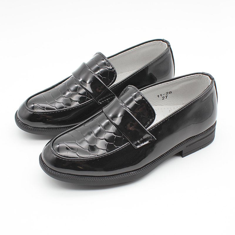 Boys Formal Wedding Party Christening Page Boy Party Dress Shoes Boys' Stylish Shoes