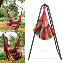 1 x Portable Outdoor Hammock, Fashion Home Portable Outdoor Camping Hammock For Garden, Sports, Home Travel,Striped Bed Hammock
