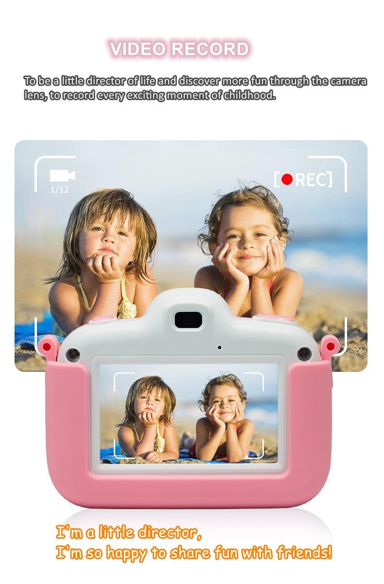 para meninas meninos crianças câmera 3.0