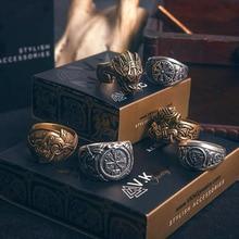 Байер 316L нержавеющая сталь Нос Викинг для мужчин кольцо Дракон животное языческий один амулет Vegvisir скандинавские модные украшения LR622