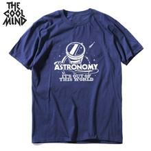 COOLMIND 100% cotton summer loose men T shirt casual cool tee short sleeve tshirt o-neck t-shirt mo0130