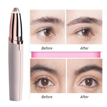 Electric Eyebrow Trimmer Makeup Painless Eye Brow Epilator Mini Shaver Razors Portable Facial Hair Remover Women depilator